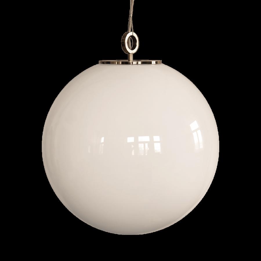 żyrandol duz biała kula