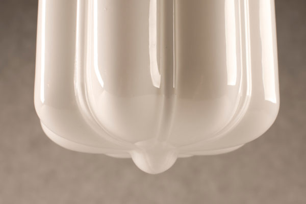 klosz szklany opalowy