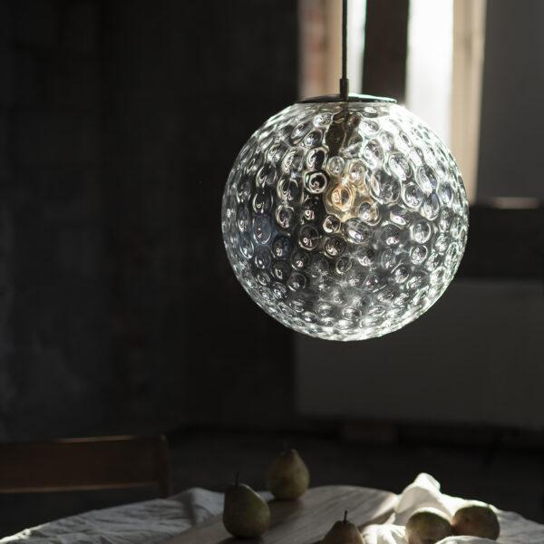 Szklana Lampa Kula Refleksyjna